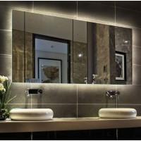 Зеркало для ванной комнаты с внутренней подсветкой Варна 150х80 см