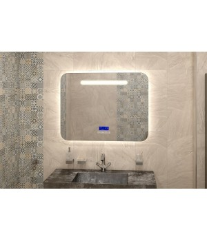 Зеркало в ванную с подсветкой Аделина
